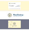 Beautiful football logo and business card