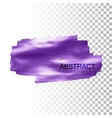 Glowing paint stain banner vector image