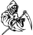 grim reaper - halloween set - vector image