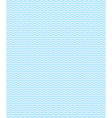 Seamless sea pattern Light blue waves on white vector image vector image