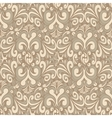 Seamless vintage light background vector image vector image