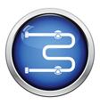 Towel dryer icon vector image vector image