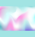 very beautiful rainbow texture holographic foil vector image vector image