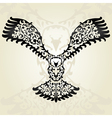 decorative eagle vector image