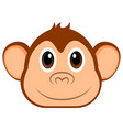 avatar of a monkey vector image vector image