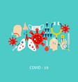covid19 19 concept vector image