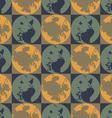 Followed blots squares vector image vector image