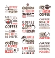 Hand drawn coffee badge vector image vector image