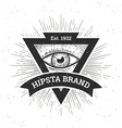 Hipster Banner vector image vector image