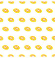 seamless pattern summer beach frisbee background vector image vector image