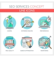 SEO Services vector image