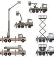 Auto crane vector image vector image