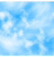 Cloud layers vector image vector image