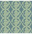 damask pattern ornament vector image