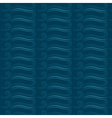 Marine seamless pattern with waves vector image