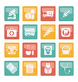 medical hospital and health care icons vector image