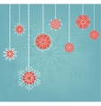 Christmas background design with hand drawn vector image