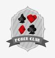 casino club design vector image vector image