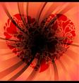 deep love vector image vector image