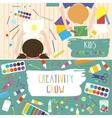 kids art-working process creativity