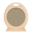 portable fan icon flat style vector image