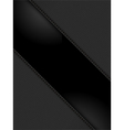 black leather panels on black vector image vector image