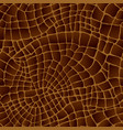 brown leather texture seamless pattern background vector image
