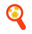 coronavirus search coronavirus outbreak in china vector image vector image