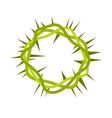 crown thorns icon vector image