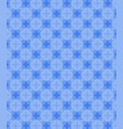 geometric shapes pattern blue background vector image vector image