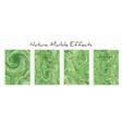 mixture acrylic paints liquid marble texture vector image vector image