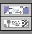 scientific brochure design template flyer layout vector image