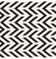Seamless Black And White Chevron ZigZag vector image vector image