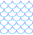 seamless pattern holographic mermaid scale vector image