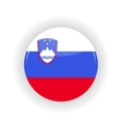 Slovenia icon circle vector image
