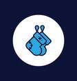 socks icon sign symbol vector image vector image