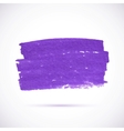 Violet marker texture stain vector image vector image
