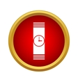 Watch icon in simple style vector image vector image