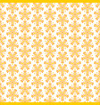 abstract colorful seamless floral pattern vector image