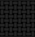black 3d geometric seamless background with vector image