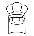chef hat design vector image