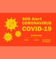 coronavirus symptoms coronavirus outbreak in vector image vector image