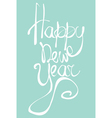 Happy new Year Universal greeting card for holiday vector image vector image