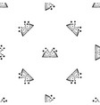 magic book pattern seamless black vector image vector image