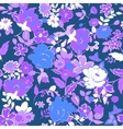 Seamless Floral background Lilac and white vector image vector image