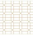 seamless geometric ornamental minimalistic pattern vector image