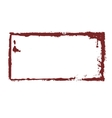 Dirty sloppy stamp imprint vector image