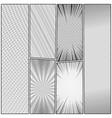 comic monochrome concept vector image