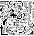 Decorative pattern design vector image vector image