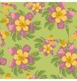 elegance seamless flowers background vector image vector image